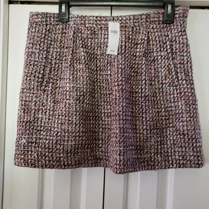 Gap Tweed Mini Skirt. SZ.10